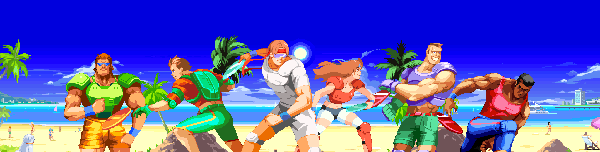 Windjammers Is Finally Out!